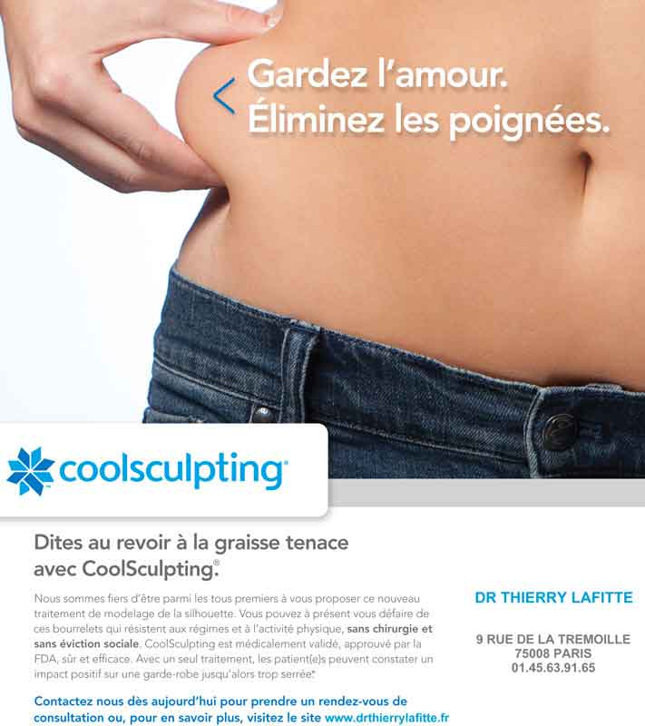 Publicité coolsculpting